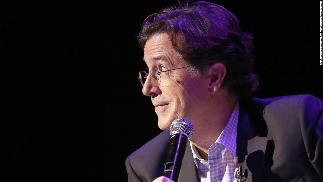 "Incoming ""Late Show"" host Stephen Colbert announced in May 2015 that he would <a href=""http://money.cnn.com/2015/05/07/media/stephen-colbert-schools/"">fund all existing grant requests</a> made by South Carolina public school teachers through the crowd-funding site Donorschoose.org. His $800,000 gift will aid 800 teachers at more than 375 schools, according to a news release. Click through for more examples of charitable celebs."