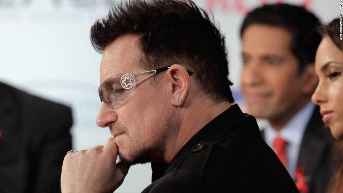 In 2002, U2 front man Bono created the ONE Campaign to end global poverty and has successfully gotten support from world leaders, who gathered for World AIDS Day on December 1, 2011. Over the intervening decade, Bono's campaign helped provide access to lifesaving AIDS medications to nearly 4 million Africans.