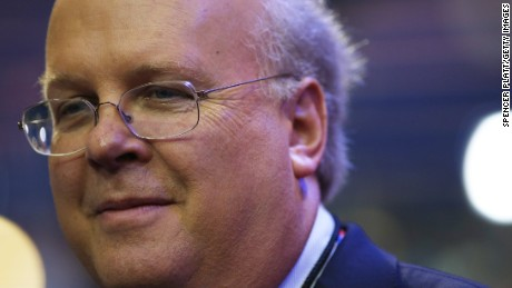 Karl Rove, former Deputy Chief of Staff and Senior Policy Advisor to U.S. President George W. Bush, walks on the floor before the start of the second day of the Republican National Convention at the Tampa Bay Times Forum on August 28, 2012 in Tampa, Florida.