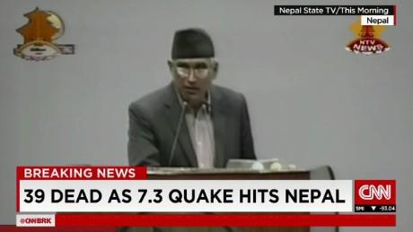 exp World Business Today, Muarli Kunduru, Nepal quake _00002001