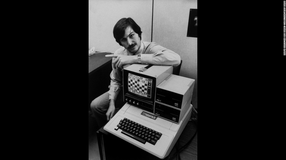 In 1977, Apple Computers introduced the Apple II, which became one the first successful home computers. Co-founders Steve Jobs, pictured here, and Steve Wozniak formed the Apple Computer Company in 1976. Along with Bill Gates' Microsoft, which was founded in 1975, Apple helped ignite the digital age we live in today.