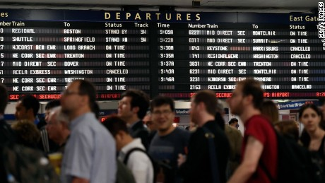 Amtrak crash throws Northeast travel into turmoil