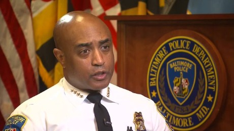 Baltimore Police Commissioner Anthony Batts fired