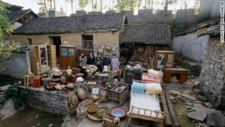 Home in the ancient village of Huangsiqiao, Phoenix County, Hunan Province