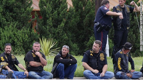 Police: 5 gangs involved in Texas biker shooting
