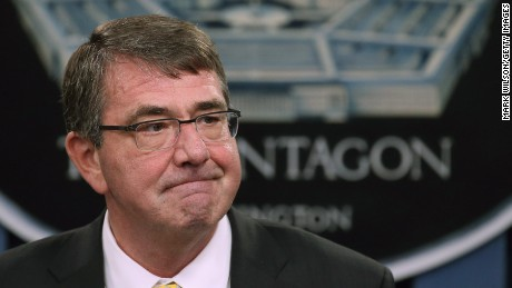 Defense Sec.: Iraqi forces showed no will to fight ISIS