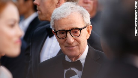 "Woody Allen attends the premiere of ""Irrational Man"" during the 68th annual Cannes Film Festival on May 15, 2015."