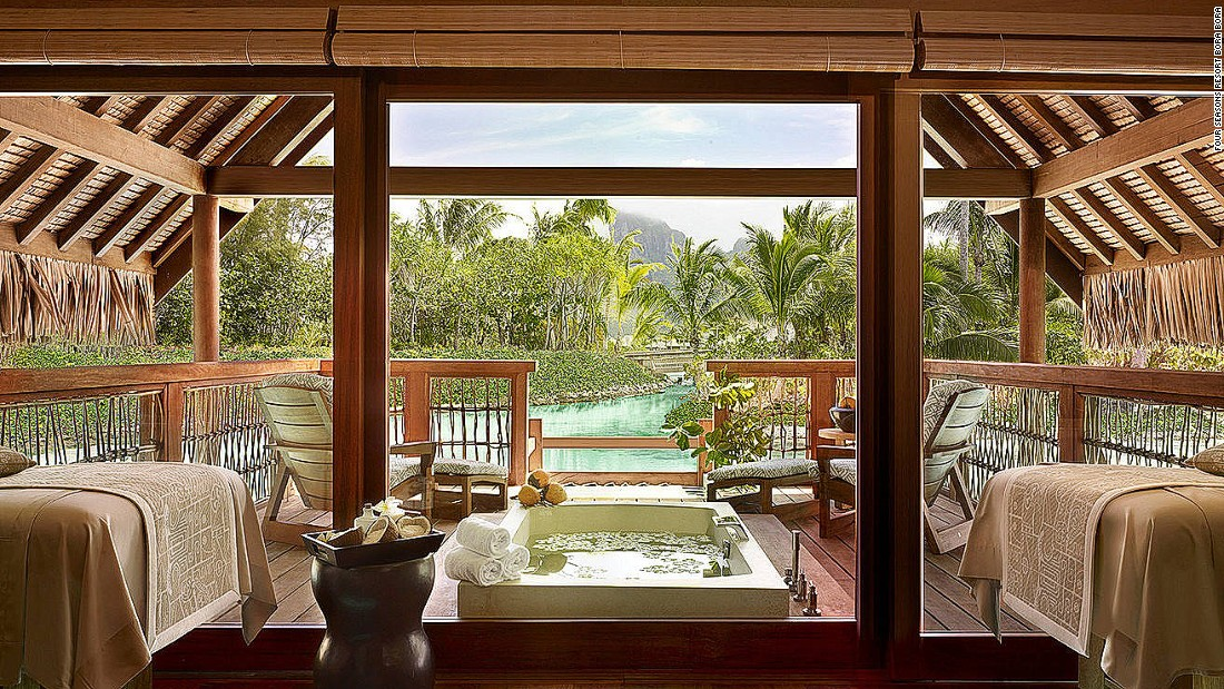 10 Of The World 39 S Best Hotel Spas
