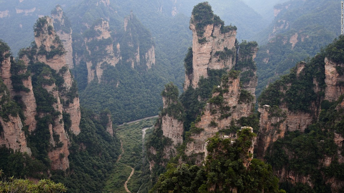 "Hunan Province, home to striking quartz cliffs and scenery, is a popular tourist destination. Part of it is said to have inspired the creation of ""Pandora"" in James Cameron's ""Avatar."""