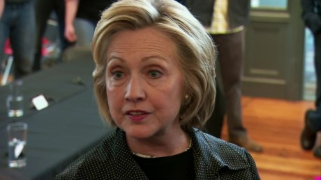 bts iowa hillary clinton speaks to press state dept email release _00002926