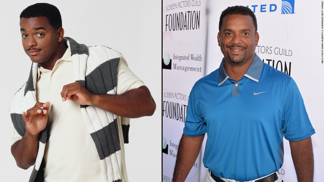 "Alfonso Ribeiro will always be identified with Will's preppy cousin Carlton Banks, <a href=""https://www.youtube.com/watch?v=zS1cLOIxsQ8"" target=""_blank"">who even has a dance named after him.</a> In 2014, Ribeiro won season 19 of ""Dancing With the Stars."" In May, it was announced that he would replace ""DWTS"" host Tom Bergeron as the host of ""America's Funniest Videos."""