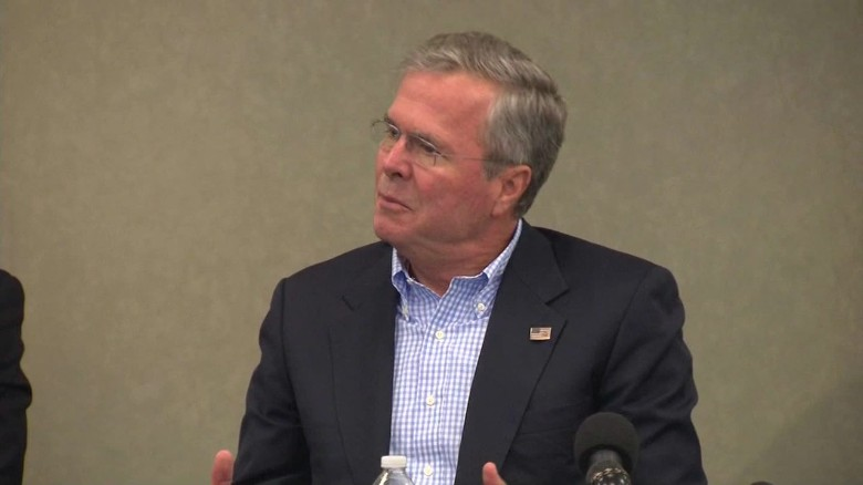 Obama 'abandoned' Iraq, Jeb Bush says