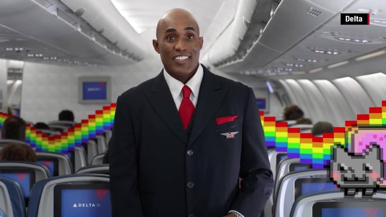 Delta's new safety video is meme-tastic