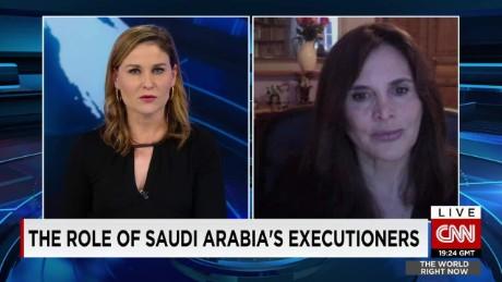 The role of Saudi Arabia's executioners