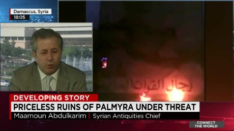 """We're afraid"" of what ISIS will do in Palmyra"