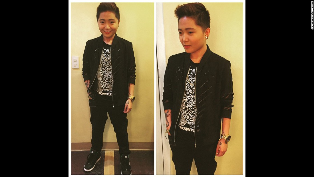Singer Charice has been posting photos of herself looking more masculine to her Instagram account. The performer came out as a lesbian in 2013.
