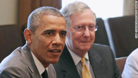 Obama meets with McConnell, others on Supreme Court nomination