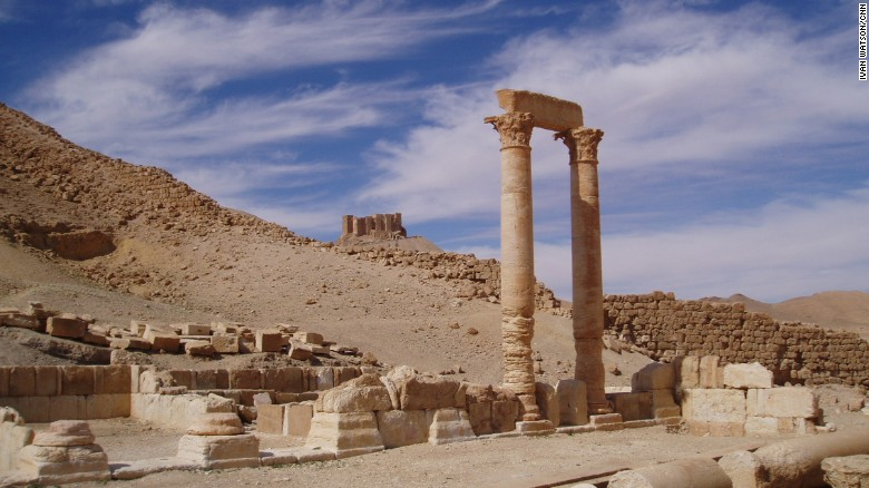 """In 2007, CNN Correspondent Ivan Watson visited the ancient desert city of Palmyra, Syria as a tourist on the bus. It was an """"astounding sight,"""" he recalls: """"A thousand year old city remarkably preserved in the middle of the desert."""" Now, the site is under grave threat from ISIS."""
