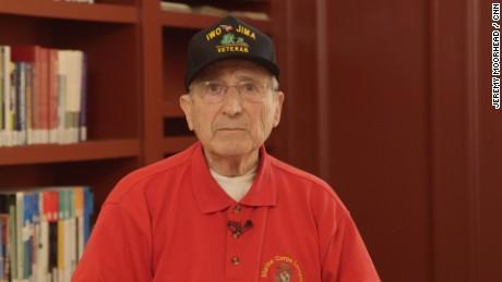 Joe Bruni WWII Veteran reads his poem 'Ode to Joe'