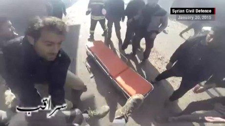 White Helmets rescue footage from inside Syria