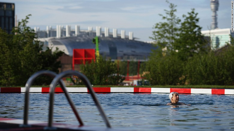 Kings Cross Pond Club is the UK's first ever man-made freshwater public swimming pool.