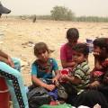 05 Iraq sandstorm families