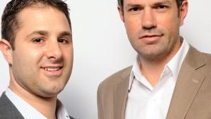Aaron Kirley and Zeke Adkins,  Luggage Forward co-founders.