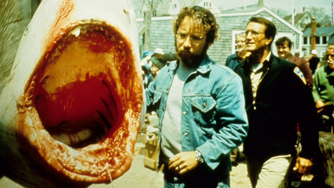 "<strong>""Jaws"" </strong>: A monster great white shark terrorizes a a coastal New England resort town in this now classic film which kicked off a franchise. <strong>(Netflix) </strong>"