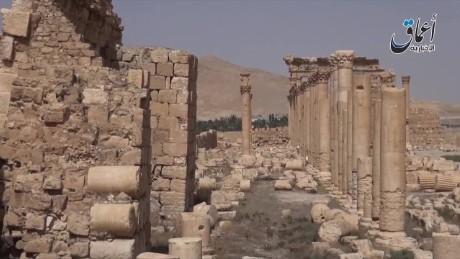 cnnee isis damaging of destroying city_00004101