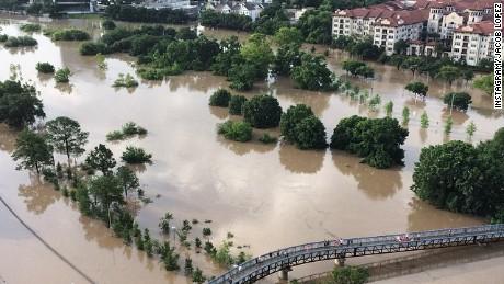 Houston's mayor describes the devastation in the city