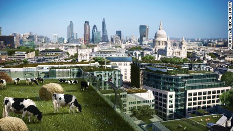 Urban high rise farms, 3D printed houses and floating cities are just some of the most likely architectural developments in the next 100 years, according to UK research.
