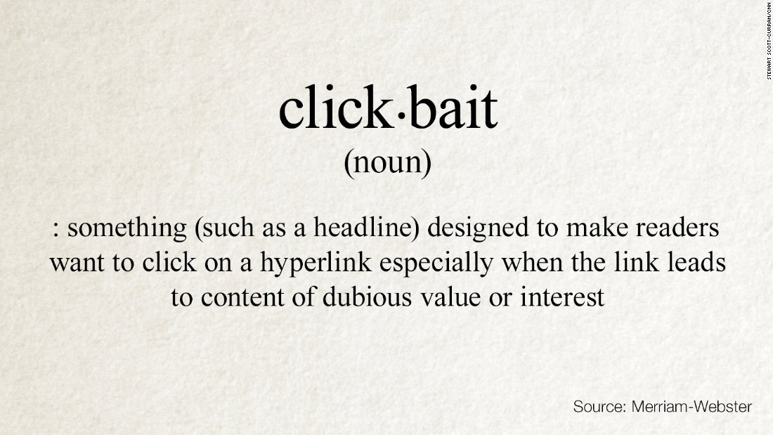Clickbait Super 169 Words Added Merriam Webster Dictionary