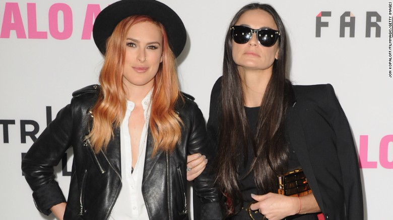 """Rumer Willis is more like her mom, actress Demi Moore, than she realized. In May, """"Dancing With the Stars"""" winner Willis <a  data-cke-saved-href=""""https://instagram.com/p/3IEp-IvhaZ/?taken-by=ruelarue"""" href=""""https://instagram.com/p/3IEp-IvhaZ/?taken-by=ruelarue"""" target=""""_blank"""">posted a photo of her and her famous mother</a> dressed alike and looking like twins."""