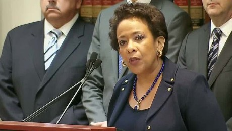 Lynch: U.S. determined to root out FIFA corruption