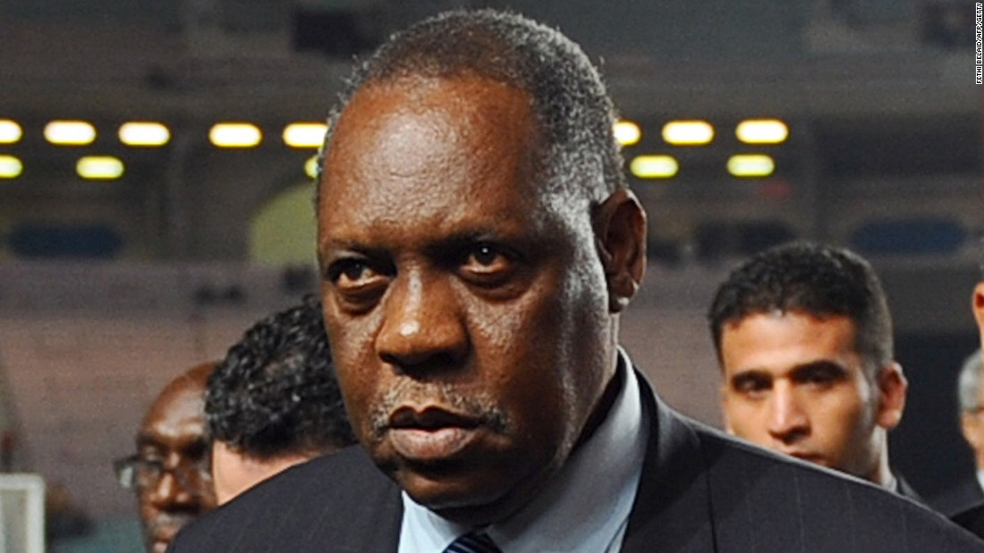 "<a href=""http://cnn.com/2010/SPORT/football/11/30/football.fifa.panorama.ioc/"">Issa Hayatou from Cameroon (pictured) is one of three FIFA officials</a> -- the others Nicolas Leoz from Paraguay and Ricardo Teixeira from Brazil -- who are named in a BBC program which alleges they took bribes from the International Sports and Leisure (ISL) marketing company who secured World Cup rights in the 1990s. A day later, Hayatou says he is considering legal action against the BBC. All three would have voted on the hosts for the 2018 and 2022 World Cups. The International Olympic Committee's Ethics Commission later looks into the claims against Hayatou -- as he was an IOC member. <a href="". http://www.olympic.org/Documents/Commissions_PDFfiles/Ethics/Ethics-2011-10-03-decision-recommendation-Issa-Hayatou-Eng.pdf"" target=""_blank"">It finds he had personally received a sum of money from</a> ISL as a donation to finance the African Football Confederation (CAF)'s 40th anniversary and recommends he be reprimanded. <a href=""http://cnn.com/2013/04/30/sport/football/blatter-fifa-havelange-bribery-football/"">In 2013, an internal investigation finds Leoz and Teixeira accepted illegal payments from ISL</a> but says the acceptance of bribe money was not punishable under Swiss law at the time. Its report says that as both have resigned their positions with FIFA further steps over ""the morally and ethically reproachable conduct of both persons"" are superfluous."