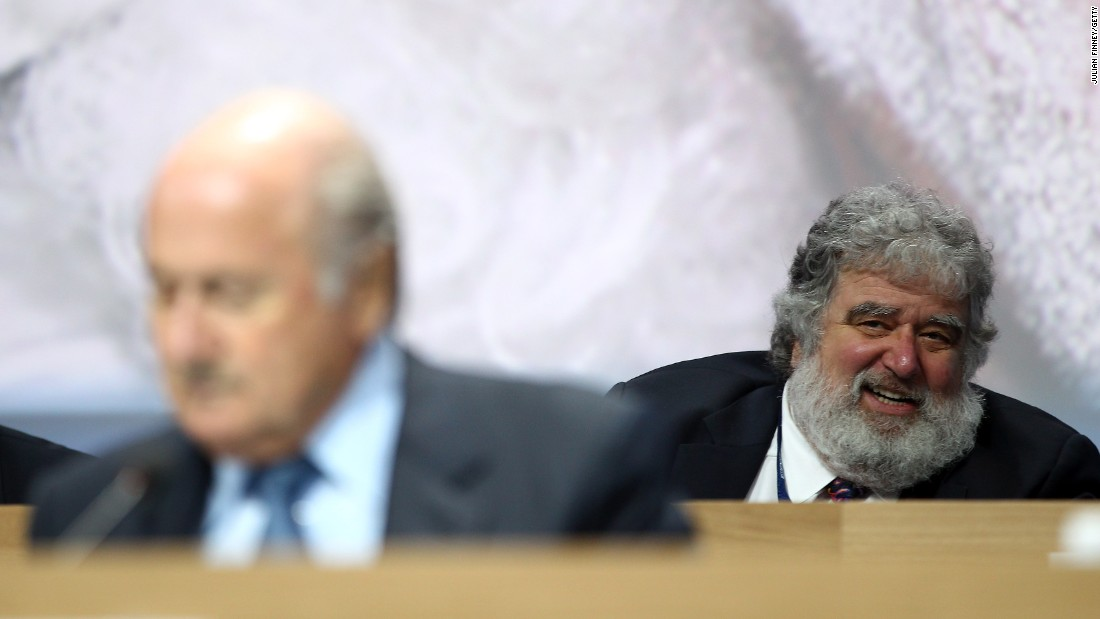 "<a href=""http://cnn.com/2013/05/06/sport/football/football-fifa-suspend-executive-committee-member-chuck-blazer/"">FIFA's Ethics Committee suspends outgoing executive committee member Chuck Blazer (pictured back right) </a>for 90 days ""based on the fact that various breaches of the Code of Ethics appear to have been committed"" by the American. Blazer is former general secretary of CONCACAF, the body which governs football in North and Central America and the Caribbean, and his suspension follows a report by its integrity committee. Blazer denies any wrongdoing."