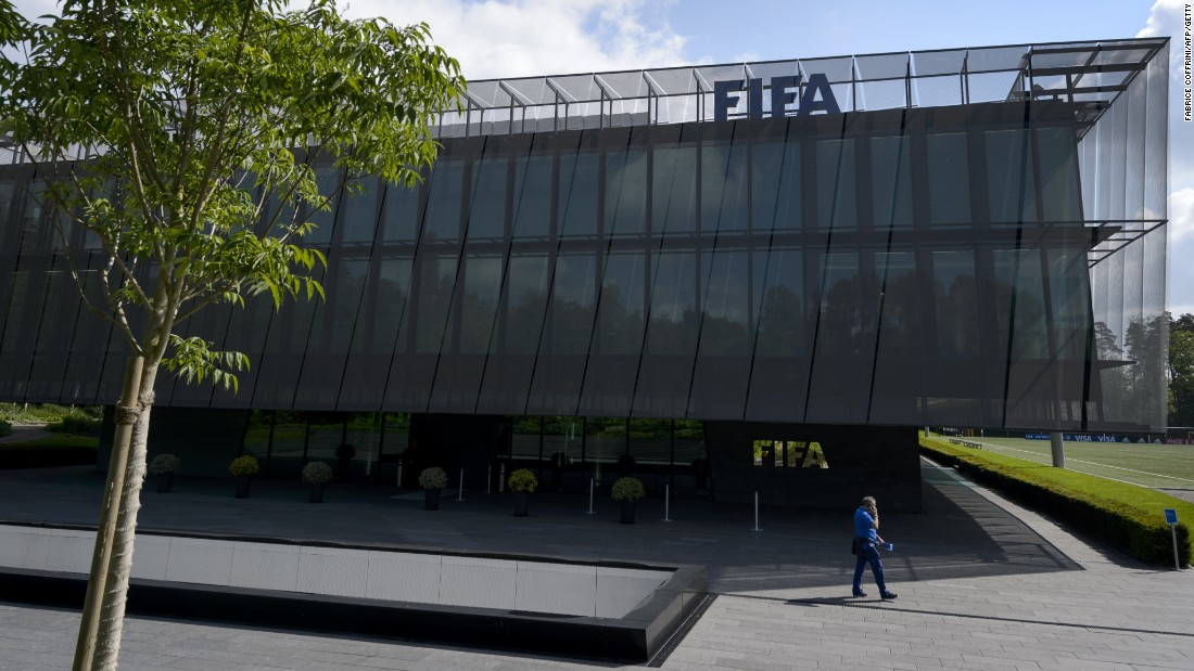 "At the request of U.S. officials, <a href=""http://cnn.com/2015/05/27/football/fifa-corruption-charges-justice-department/"">Swiss authorities raid FIFA's headquarters in Zurich</a> and arrest seven people. Meantime, the U.S. Department of Justice announces the unsealing of a 47-count indictment detailing charges against 14 people for racketeering, wire fraud and money laundering conspiracy. They include FIFA officials accused of taking bribes totaling more than $150 million and in return provided ""lucrative media and marketing rights"" to soccer tournaments as kickbacks over the past 24 years. Separately Switzerland announces its own investigation into the awarding of the World Cup bids to Russia in 2018 and Qatar in 2022."
