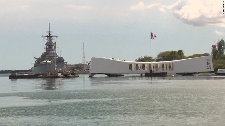 Pearl Harbor memorial closed after accident