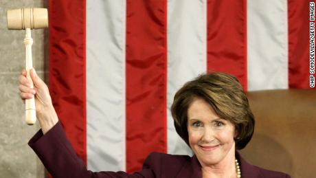 California Representative Nancy Pelosi is the first — and only — female Speaker of the House and  her speakership lasted from January 4, 2007, to January 3, 2011. Pelosi, a Democrat, lost her seat to the Republican majority in 2010, handing her seat to John Boehner.