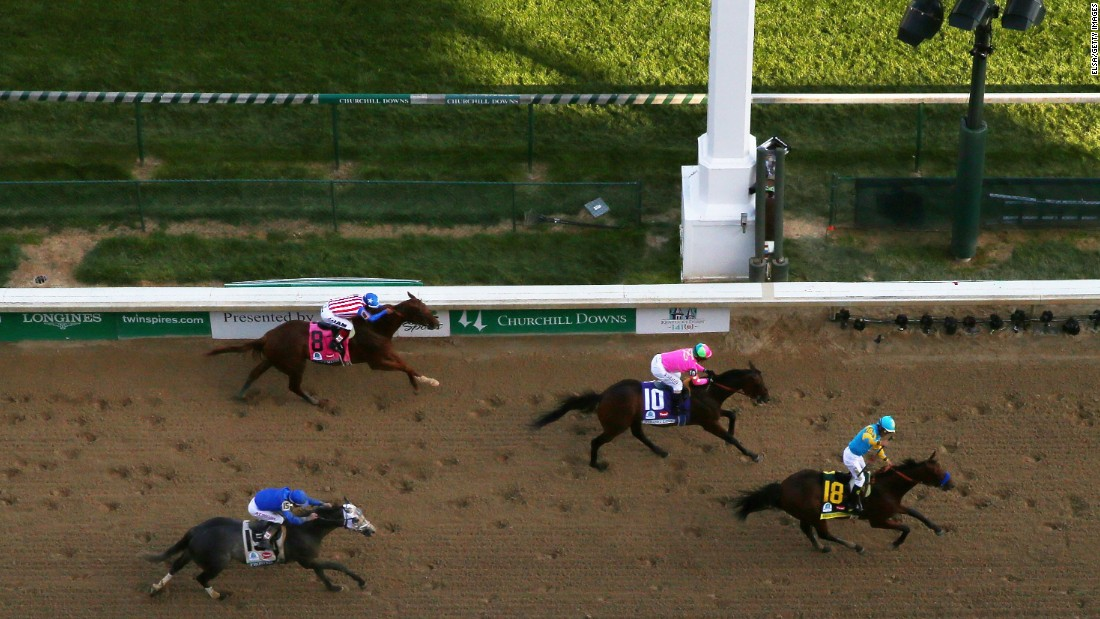 In a thrilling finale, American Pharoah edged Firing Line at the post.