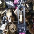 Ronald Jones love locks