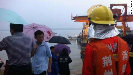 A ship carrying 458 people sank late Monday June 1, 2015 in China's Yangtze River, the state-run news agency Xinhua reported.