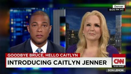 caitlyn jenner bruce transgender first transgender TV reporter eden lane CNN Tonight_00004813