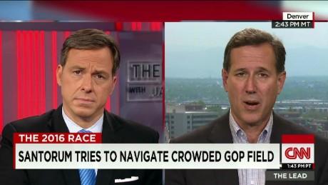 Santorum Makes Second Bid for GOP Nomination _00040524