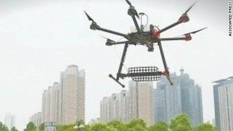 china gaokao test cheating prevention drones sesay_00005618.jpg
