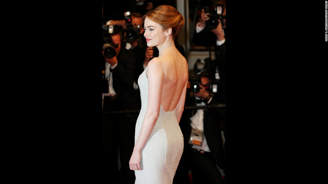 "In 2014, actress <a href=""http://www.usatoday.com/story/life/people/2014/05/01/emma-stone-body-image-spider-man/8541525/"" target=""_blank"">Emma Stone told USA Today</a>, ""I've seen a lot of comments that say, 'Eat a sandwich' or 'She looks sick.' I've been looking at myself in the mirror being mean to myself. I'm not sick. I eat sandwiches."""