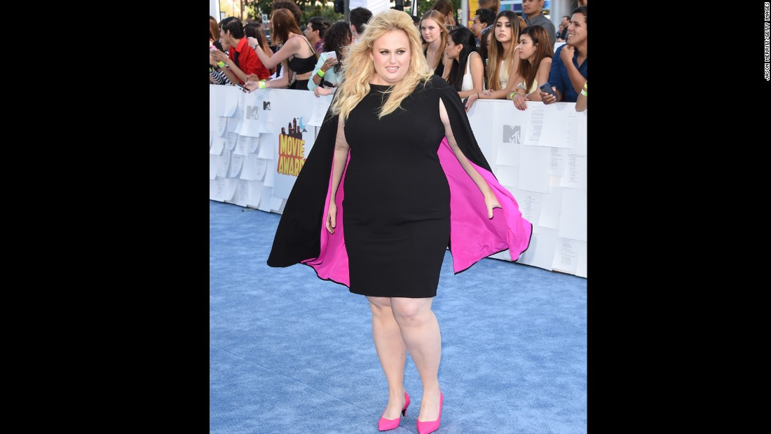 "Actress Rebel Wilson has gone a step beyond worrying about those who criticize her for her weight: She's found fame playing ""Fat Amy"" in the ""Pitch Perfect"" films. But as proud as she is of her look, Wilson <a href=""http://www.marieclaire.co.uk/news/celebrity/553164/marie-claire-s-july-issue-cover-star-rebel-wilson.html"" target=""_blank"">told Marie Claire U.K. she doesn't do nude scenes. </a>"