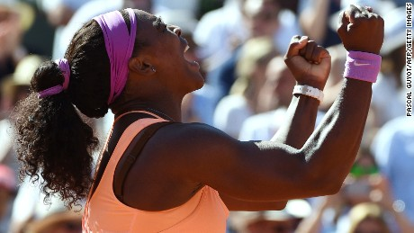 French Open: Serena Williams wins 2015 women's title