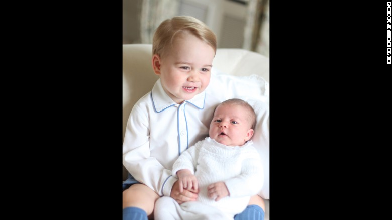 The children's mother, Catherine, Duchess of Cambridge, took the photos at Anmer Hall in Norfolk, the country home she shares with Prince William when not at their official residence at Kensington Palace in London.