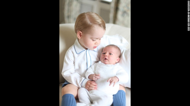 The baby girl, whose full name is Her Royal Highness Princess Charlotte Elizabeth Diana of Cambridge, was born May 2 at a London hospital.